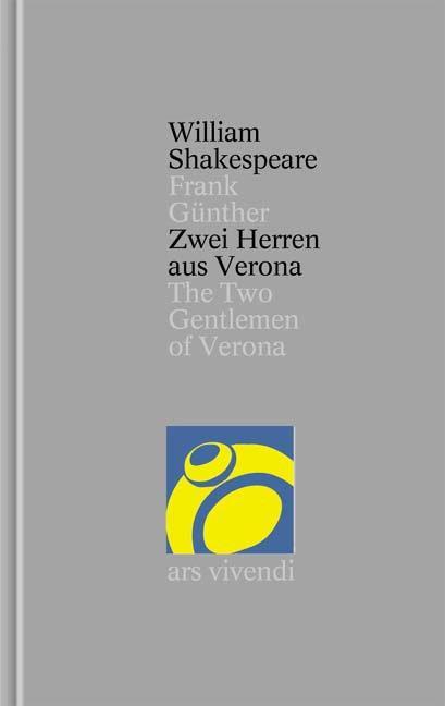 Zwei Herren aus Verona als Buch von William Shakespeare