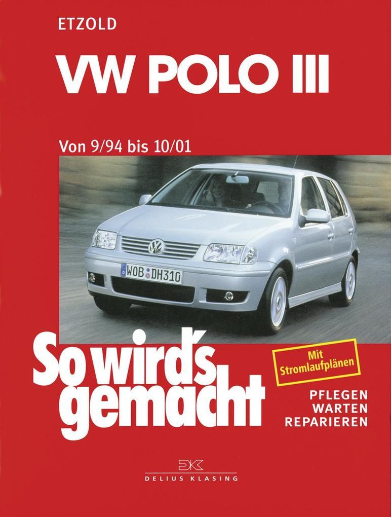 So wird's gemacht, VW Polo ab 9/94 als Buch von Rüdiger Etzold