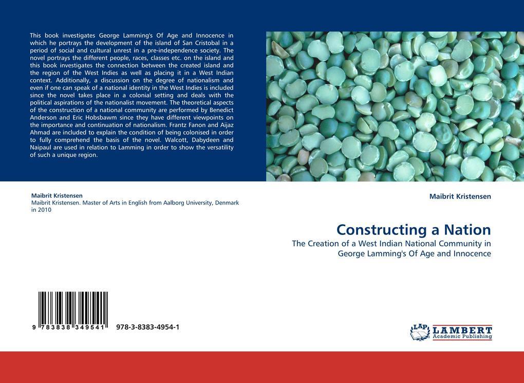 Constructing a Nation als Buch von Maibrit Kristensen