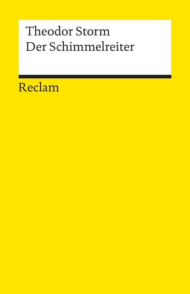 Der Schimmelreiter als Taschenbuch von Theodor Storm
