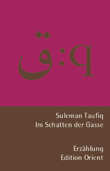 Im Schatten der Gasse als Buch von Suleman Taufiq