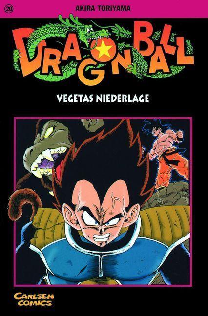 Dragon Ball 20. Vegetas Niederlage als Buch von Akira Toriyama