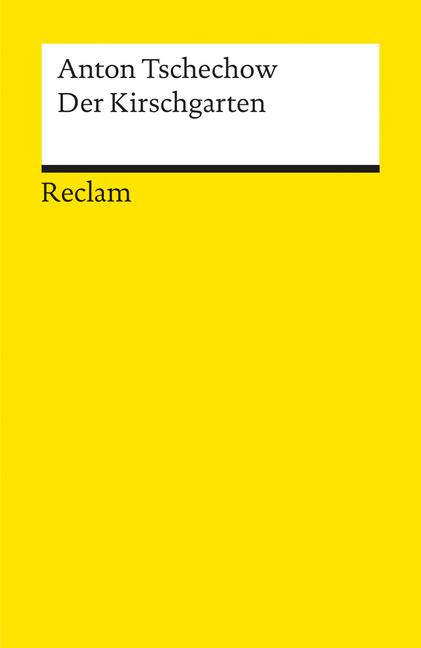 Der Kirschgarten als Taschenbuch von Anton Tschechow