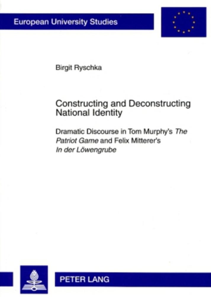 Constructing and Deconstructing National Identity als Buch von Birgit Ryschka