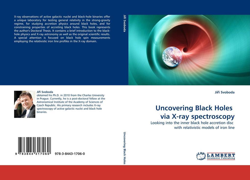 Uncovering Black Holes via X-ray spectroscopy als Buch von Jirí Svoboda