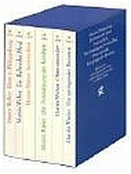 Die großen Romane. Jubiläumskassette als Taschenbuch von Martin Walser