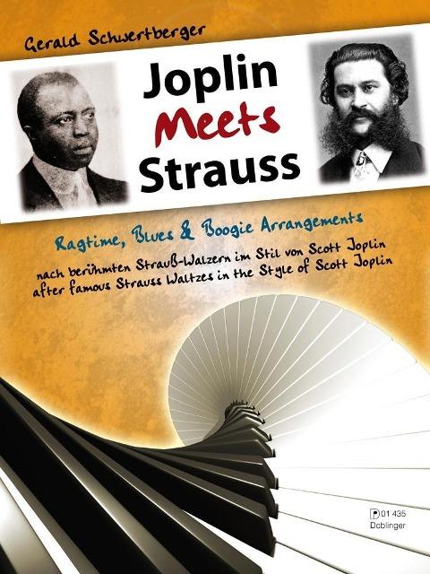 Joplin Meets Strauss als Buch von Gerald Schwertberger