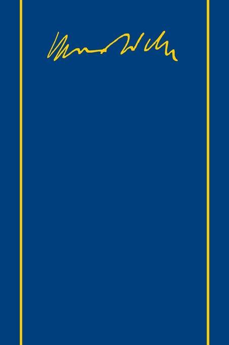 Schriften und Reden X. Zur Russischen Revolution von 1905 als Buch von Dittmar Dahlmann, Max Weber
