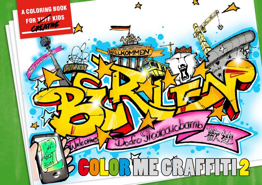 COLOR ME GRAFFITI 2 als Buch von