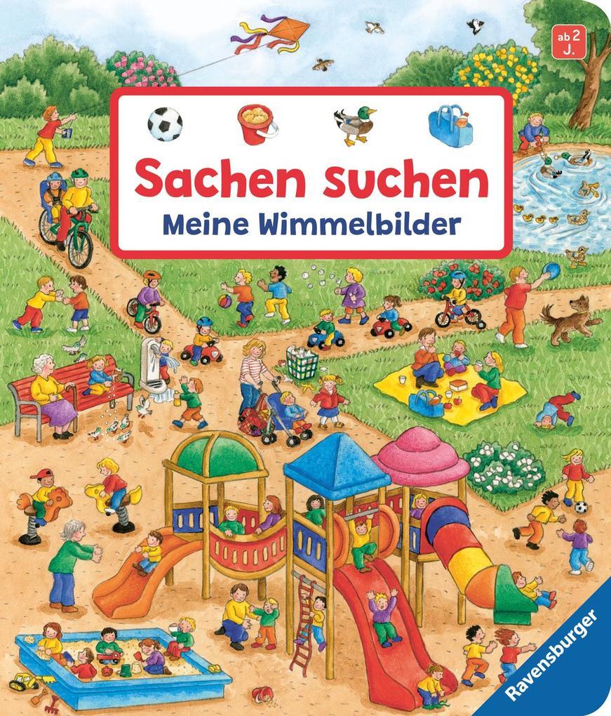 Sachen suchen: Meine Wimmelbilder als Buch von Susanne Gernhäuser