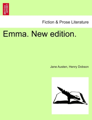 Emma. New edition. als Taschenbuch von Jane Austen, Henry Dobson