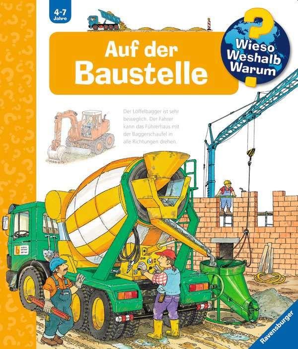 Auf der Baustelle als Buch von Patricia Mennen