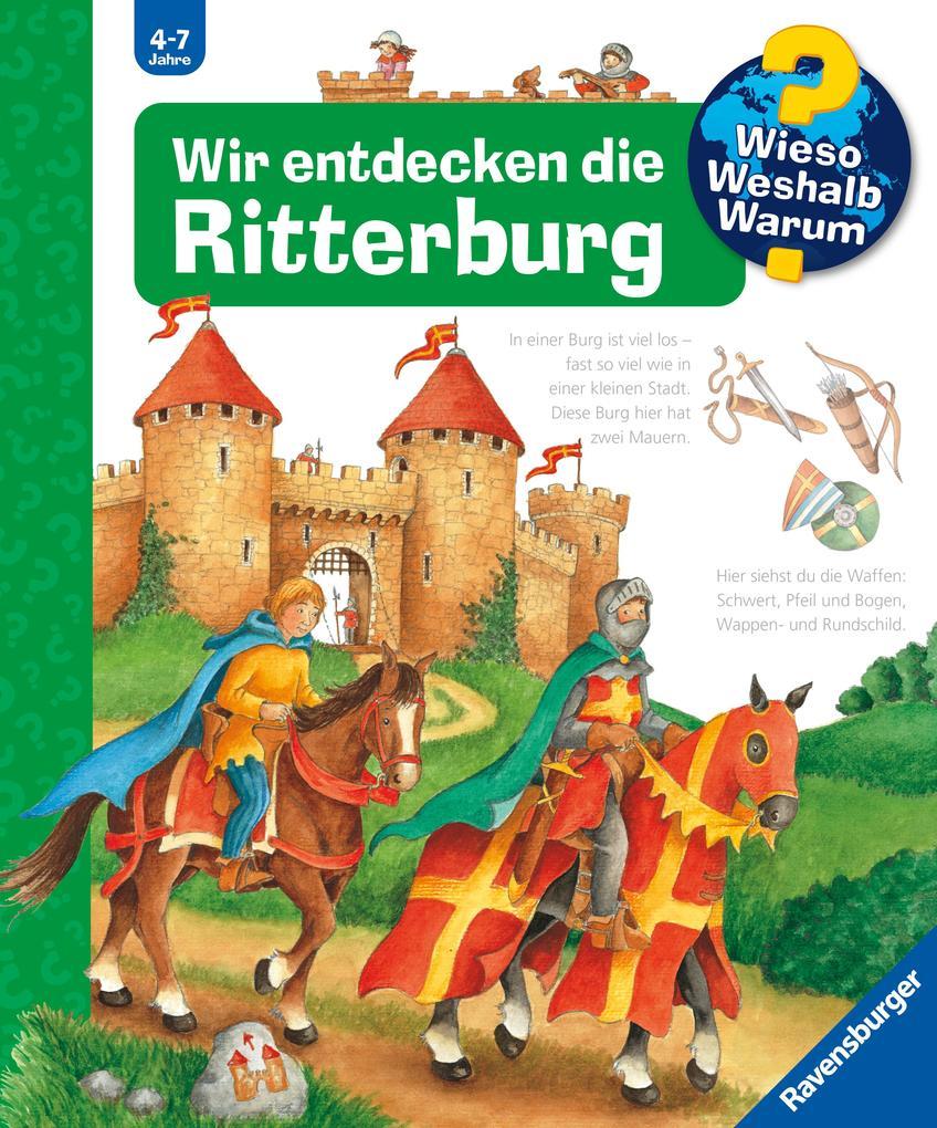 Wir entdecken die Ritterburg als Buch von Kyrima Trapp