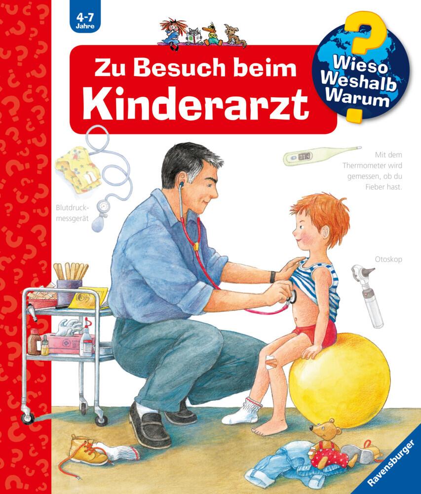 Zu Besuch beim Kinderarzt als Buch von Doris Rübel