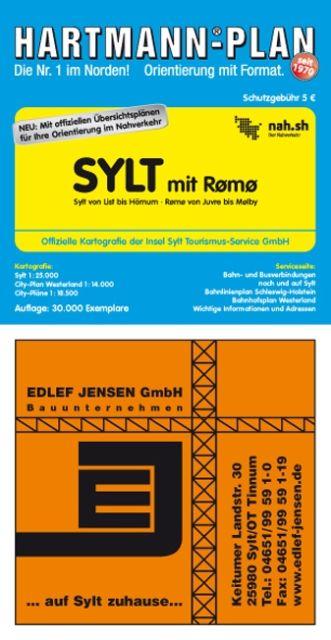 Sylt mit Rømø 1 : 25 000 als Buch von