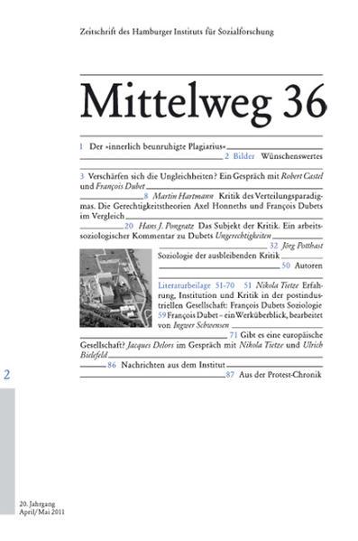 Mittelweg 36. Zeitschrift des Hamburger Instituts für Sozialforschung 2 2011. Ungerechtigkeiten als Buch von