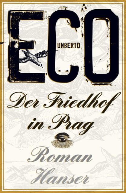 Der Friedhof in Prag als Buch von Umberto Eco