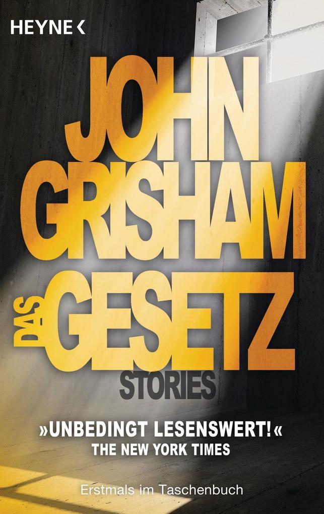 Das Gesetz als Taschenbuch von John Grisham