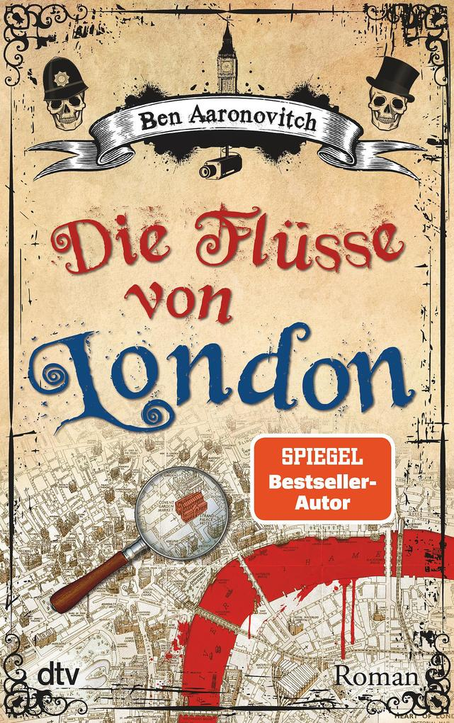 Die Flüsse von London als Taschenbuch von Ben Aaronovitch