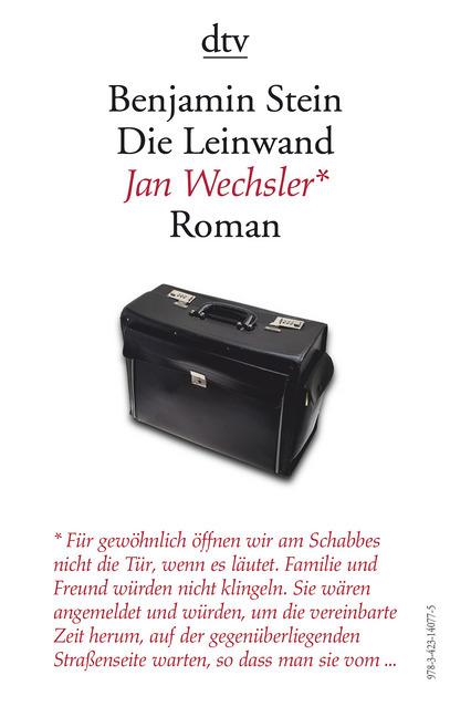 Die Leinwand als Taschenbuch von Benjamin Stein