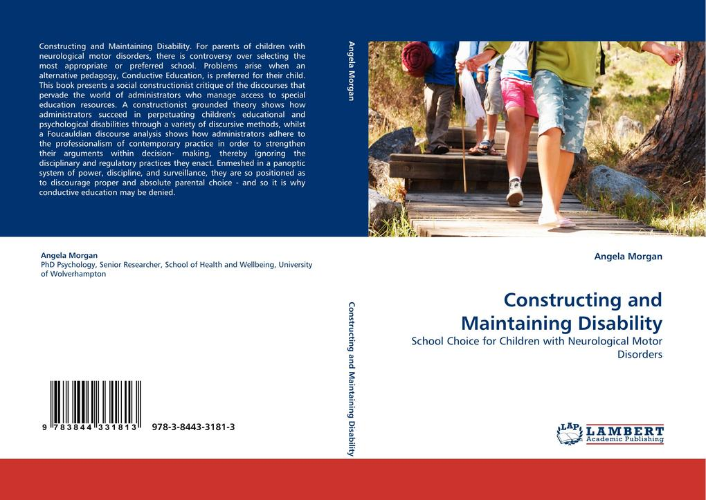 Constructing and Maintaining Disability als Buch von Angela Morgan