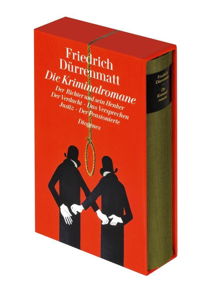 Die Kriminalromane als Buch von Friedrich Dürrenmatt