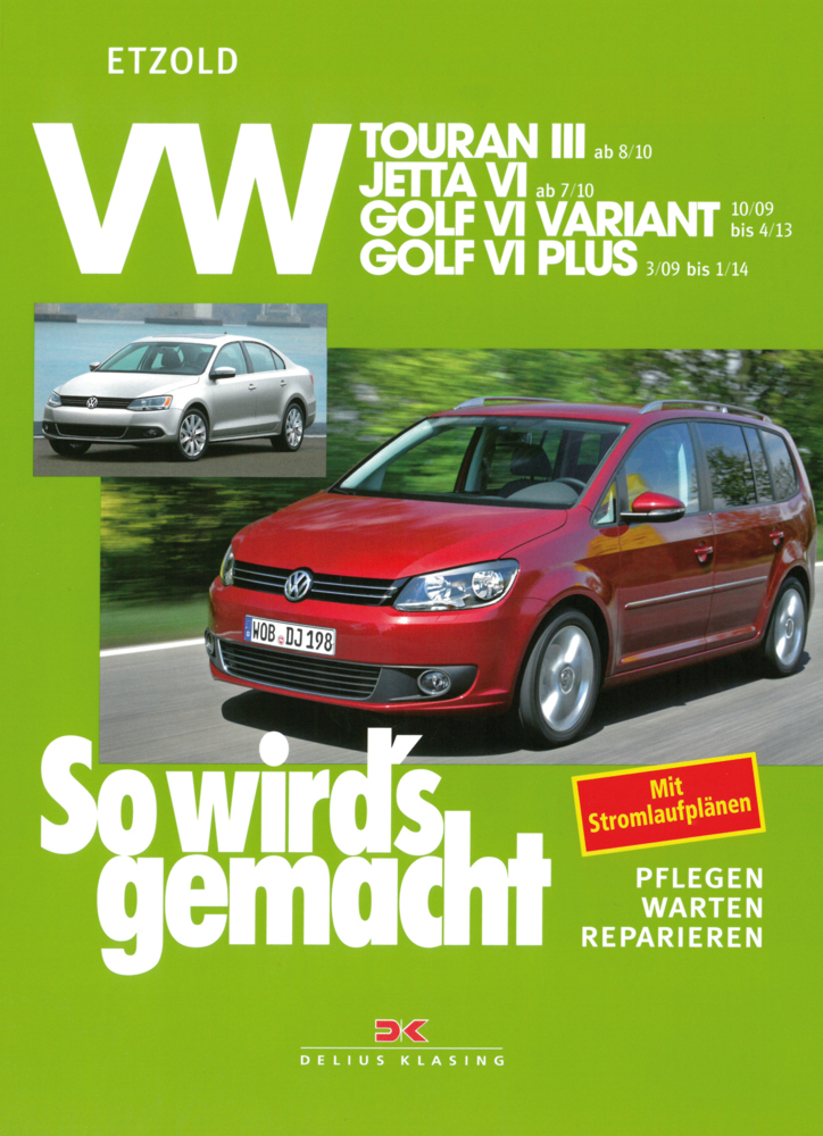 VW Touran III (ab 8/10) als Buch von