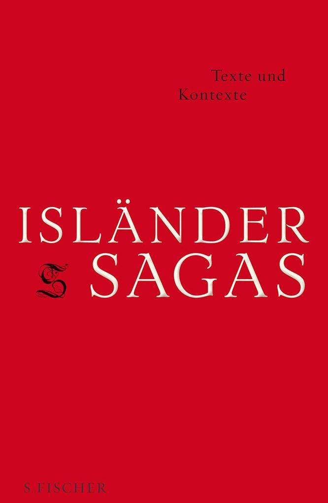 Isländersagas Texte und Kontexte als Buch von