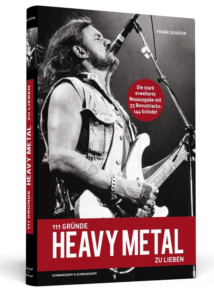 111 Gründe Heavy Metal zu lieben als Buch von Frank Schäfer