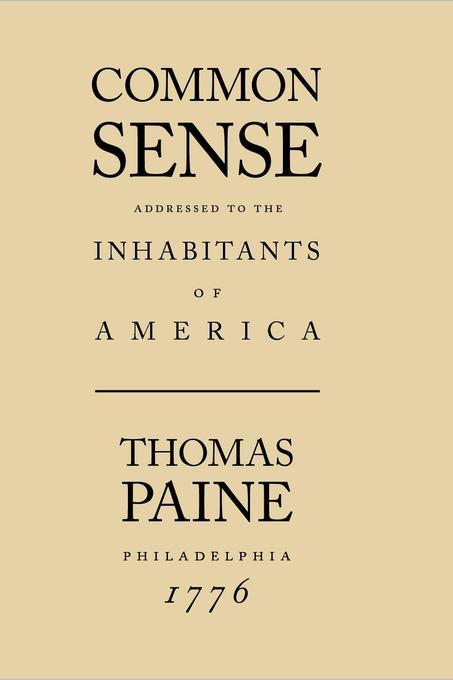 Common Sense als eBook von Thomas Paine - The Editorium