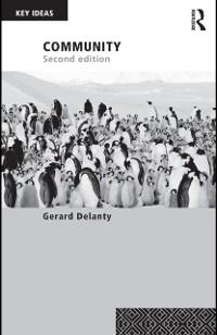 Community als eBook von Gerard Delanty