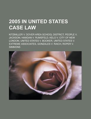 2005 in United States case law als Taschenbuch von