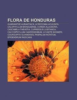 Flora de Honduras als Taschenbuch von