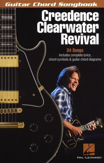 Credence Clearwater Revival Guitar Chord Songbook als Buch von