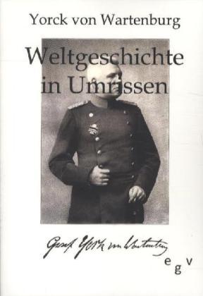 Weltgeschichte in Umrissen als Buch von Yorck von Wartenburg