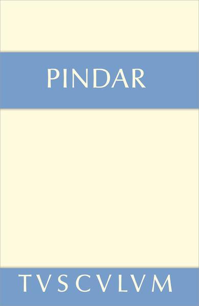 Siegeslieder als Buch von Pindar