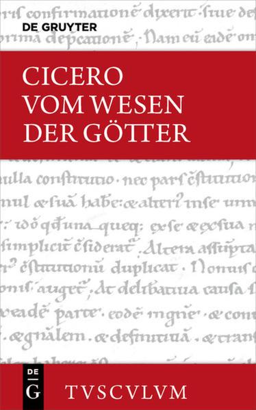 Vom Wesen der Götter / De natura deorum als Buch von Cicero