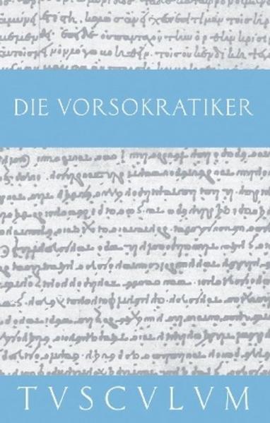 Die Vorsokratiker 1 als Buch von M. L. Gemelli Marciano