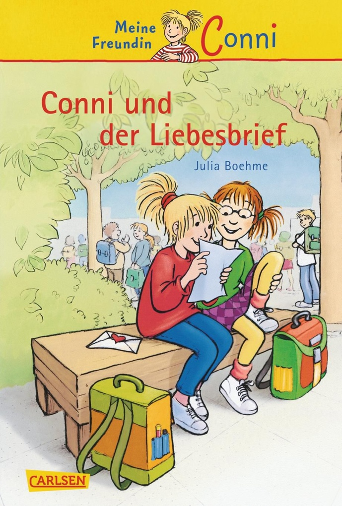 Conni-Erzählbände 2: Conni und der Liebesbrief als eBook von Julia Boehme