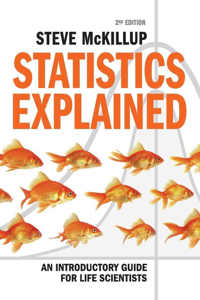 Statistics Explained als Buch von Steve McKillup