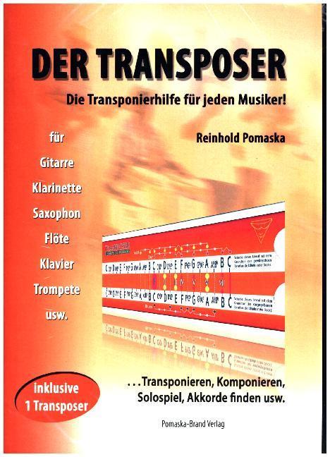 Guitar-TV: Der Transposer als Buch von Reinhold Pomaska