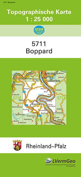 Boppard 1 : 25 000 als Buch von Landesamt für V...