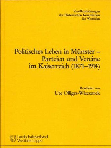 Politisches Leben in Münster als Buch von Ute Olliges-Wieczorek