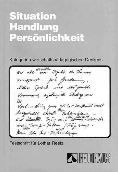 Situation, Handlung, Persönlichkeit als Buch von Wolfgang Seyd, Ralf Witt