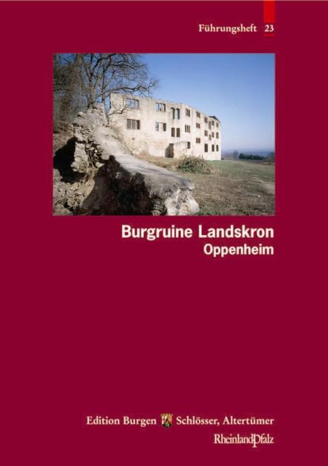 Burgruine Landskron Oppenheim als Buch von Christofer Herrmann