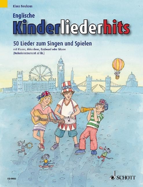 Englische Kinderliederhits als Buch von Klaus Neuhaus