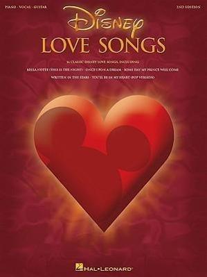 Disney Love Songs als Taschenbuch von Walt Disney Company