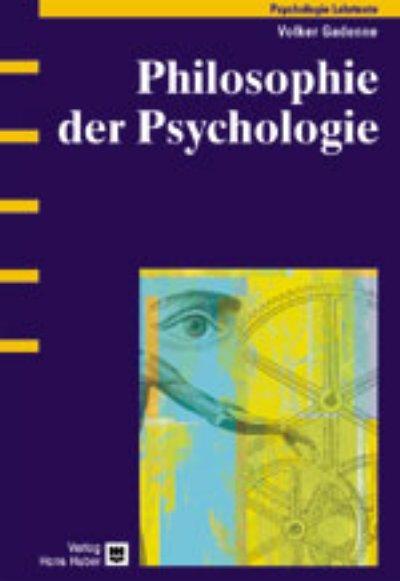 Philosophie der Psychologie als eBook von Volke...