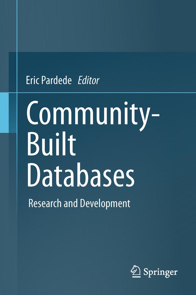 Community-Built Databases als eBook von