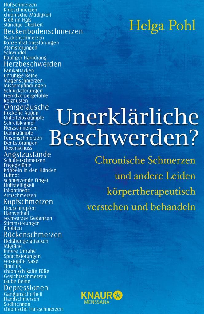 Unerklärliche Beschwerden? als eBook von Helga Pohl